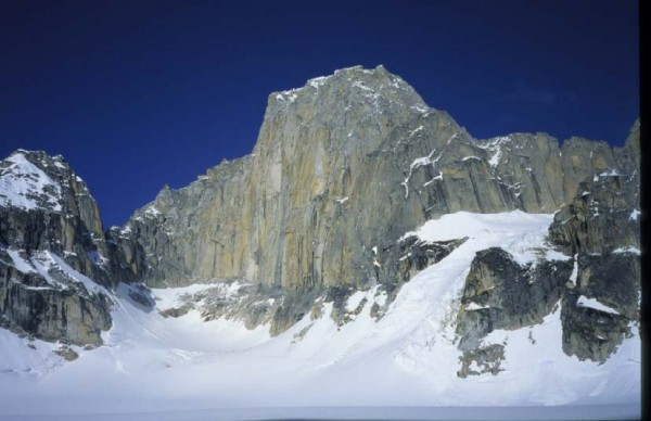 Kichatna Spire, East Face. 1st Ascent: Scott Woolums (US) and ...