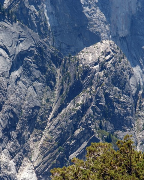 Northeast Gully, Ahwiyah Point, Yosemite Valley
