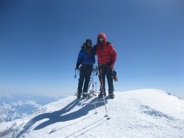 Top of North America!!! Shane and I, June 2011