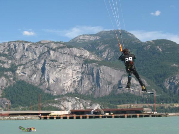 Kite board heaven.