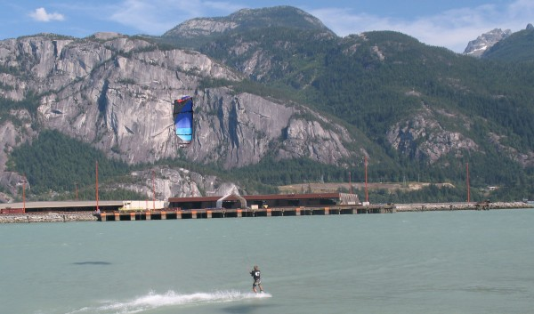 No better place to be on a hot day at Squamish