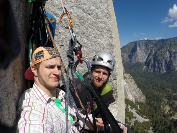 Lunch Ledge, been climbing for approximately 9 hours and no food.  Wha...