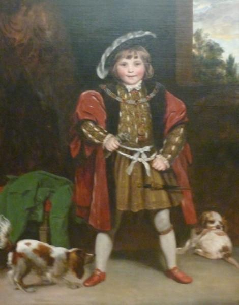 Joshua Reynold -  Master Crewe as Henry VIII