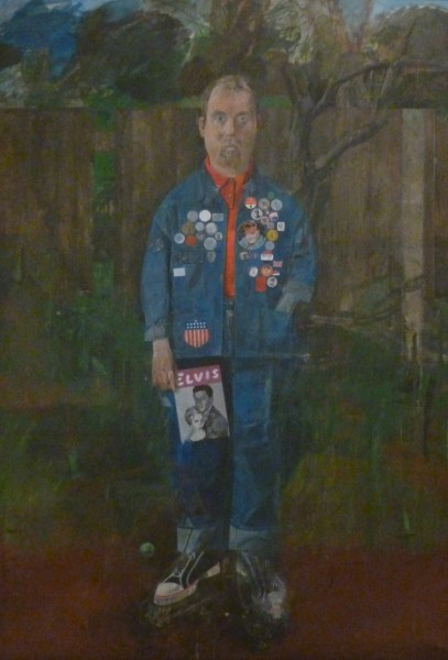 Blake - Self Portrait with Badges