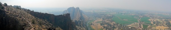 Smokey Panoramic from Summit of Monkeys Face