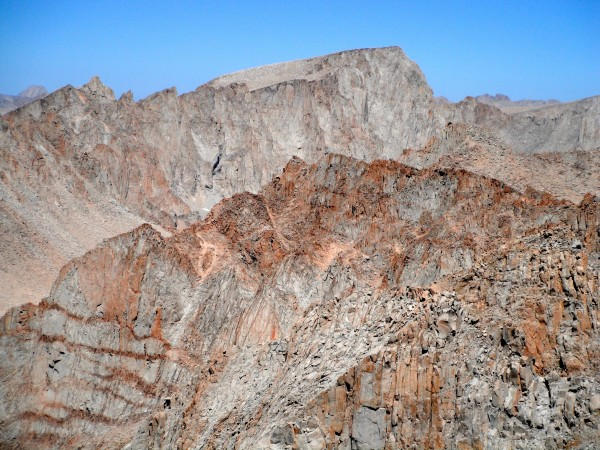 "Mt. Whitney from King's ""Whitney"""