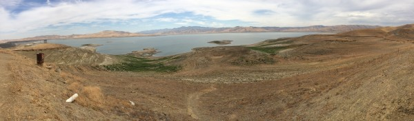 San Luis Reservoir from Romero Visitor's Center 2014-08-29