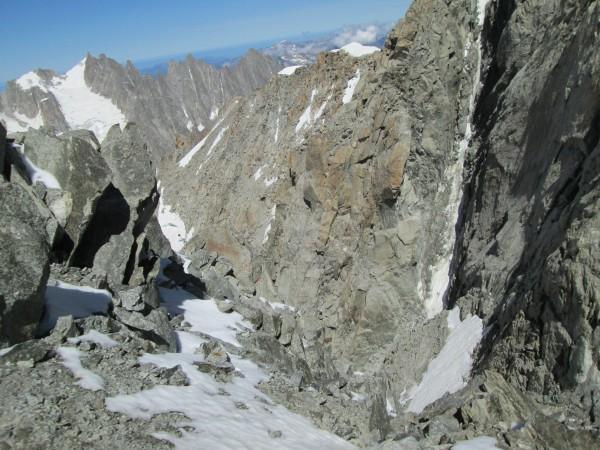 This illustrates the hazardous jenga-like nature of the mountain...sor...