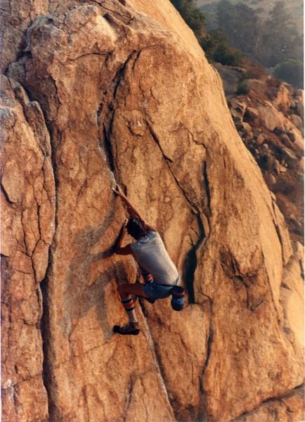 Mt Rubidoux. 80's