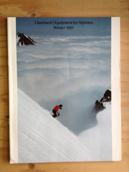 1987 Winter catalog, Chouinard