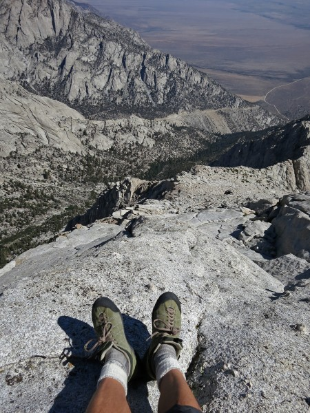 North ridge of Lone Pine Peak