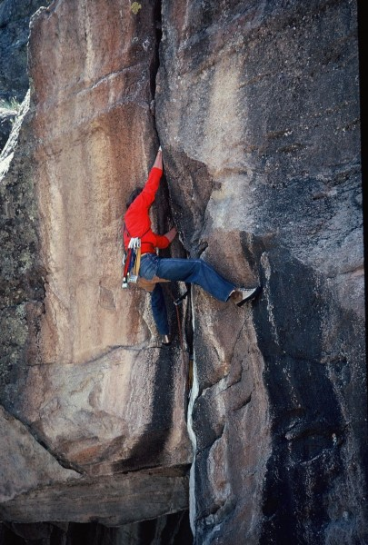 a discussion on rock climbing
