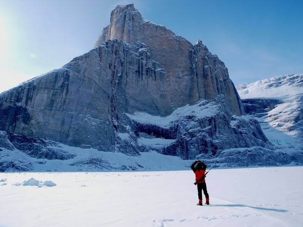 Baffin Island, north face of Polar Sun Spire