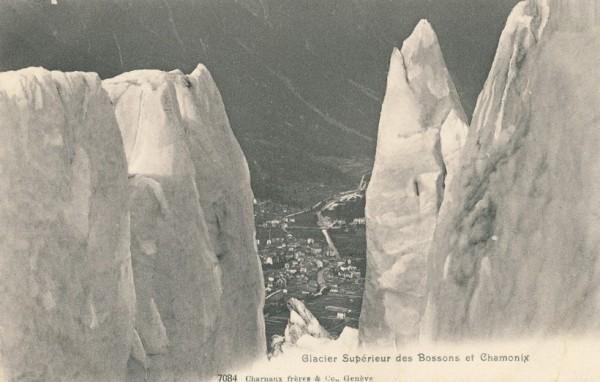Glacier Superieur des Bossons et Chamonix