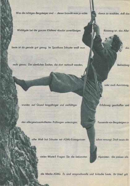 ASMU katalog Sommer 1934 Sporthaus Schuster Munchen