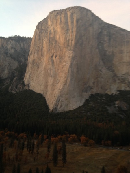 Ominous El Cap the week before the Prow