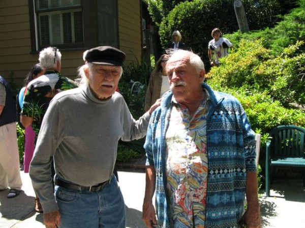 Steck and David Beck who also worked at the Hut.