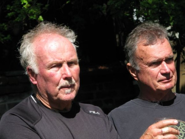 Bob and Phil Scott who also worked at the Hut.