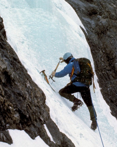 Fritz's photo off Cascade...a good climb for us in '73.