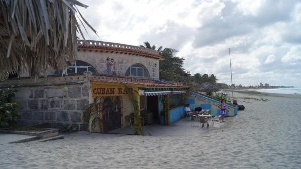 The beach of Cuba