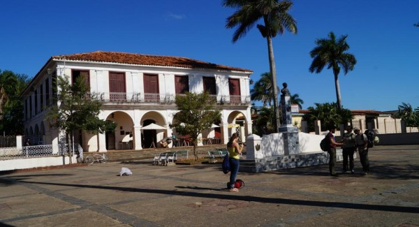Vinales town square