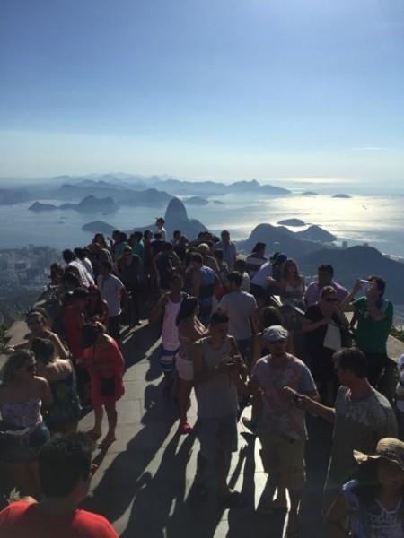 Christ Statue Overlook - Brazil
