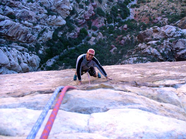 A fun day out of slightly off-vertical climbing