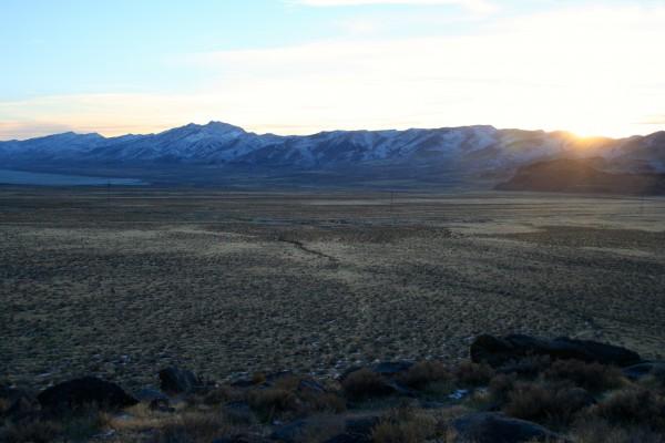 Purgatory Boulders Sunset