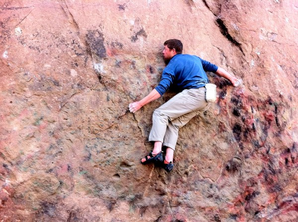 Little Shop of Horrors Traverse aka Porky's Traverse V5/6 (fa!?&#4...