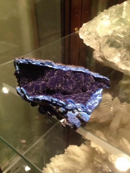 Azurite from Bisbee, AZ