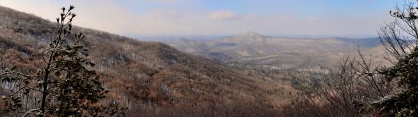 Greasy Creek Watershed in Winter