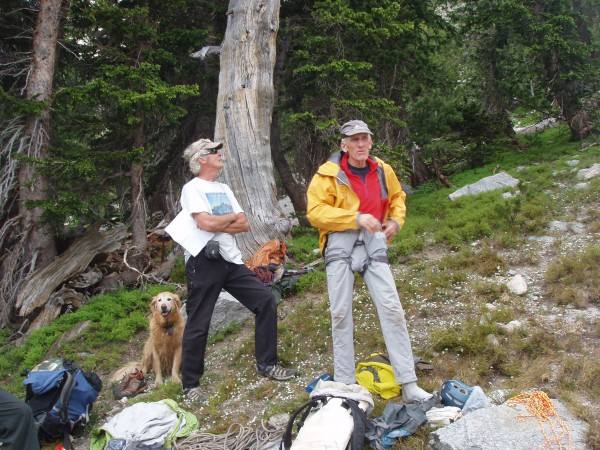 Joe Kelsey and Jim Donini in the Wind Rivers