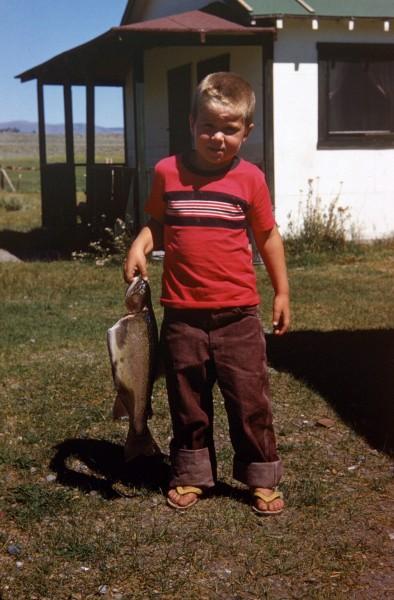 Hot Creek Ranch, Eastern Sierra 1955