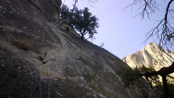 1st pitch of Munginella (5.6)