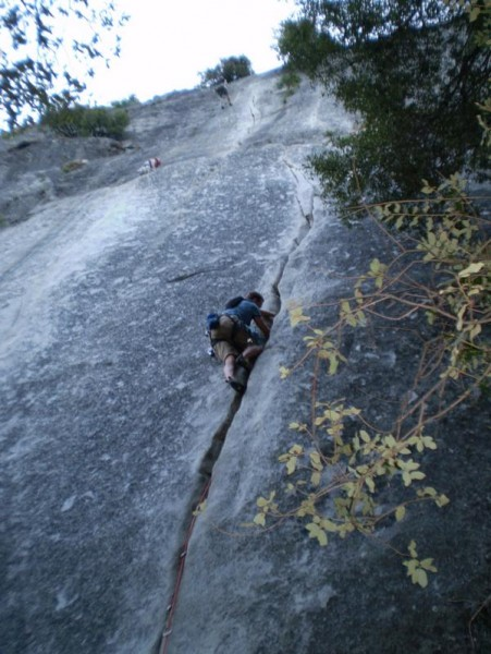 1st pitch of Jamcrack (5.7)