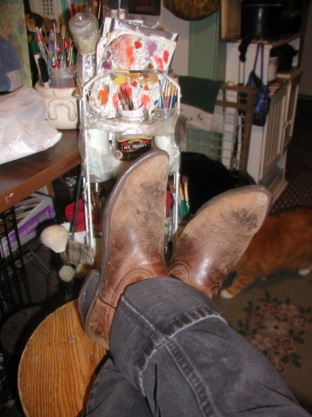 handy dandy boots, for all occasions, :)