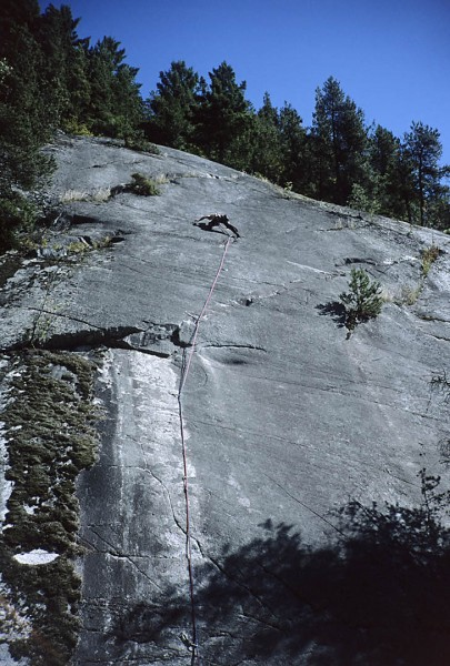 Mystery route in or around Squamish.