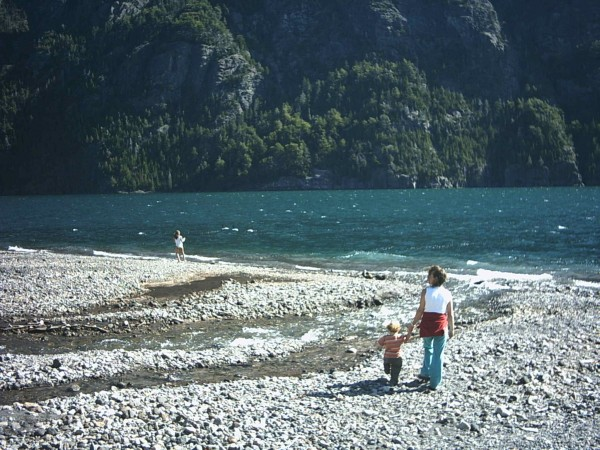 Ceci, Gaby and cousin Sofi in Patagonia a few years back