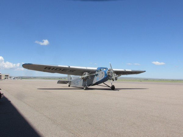 Fully airworthy 1929 Ford Trimotor at Casper-Natrona County Internatio...