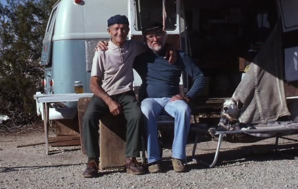 John Salathé (L) and Allen Steck (R).