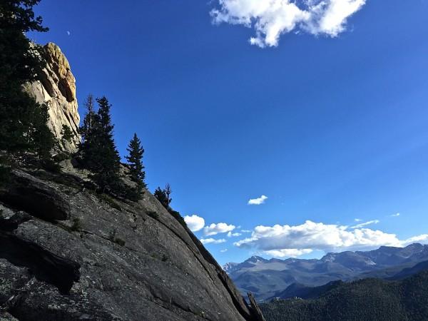 From today on a gear-retrieval mission.  Colorado summerzzzzzzzzzz