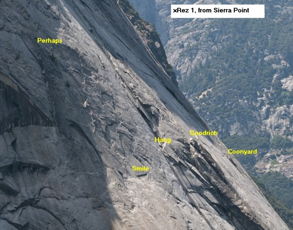 Glacier Point Apron - Left Side, xRez view from Sierra Point