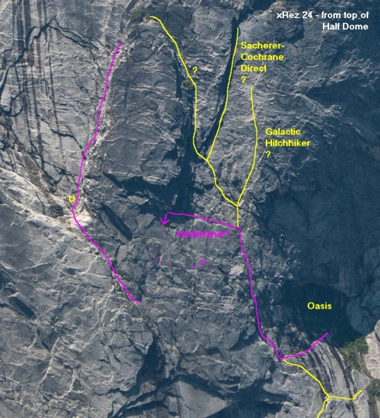 Glacier Point Apron, Oasis, Hinterland, Galactic Hitchhiker, <br/> xRez vi...