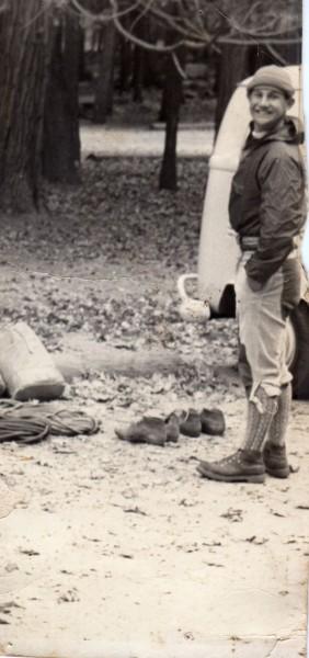 Von Hennek, Camp 4, circa mid 60s
