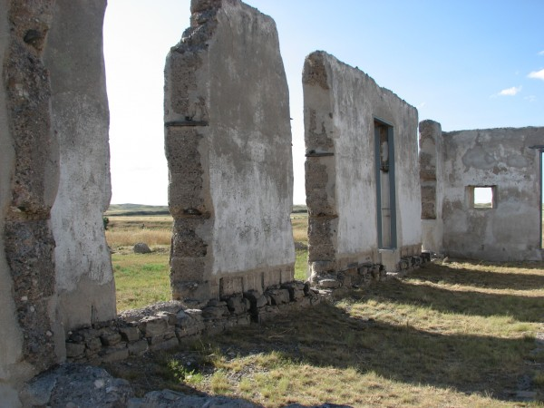 Field hospital Ruins at Fort Laramie.