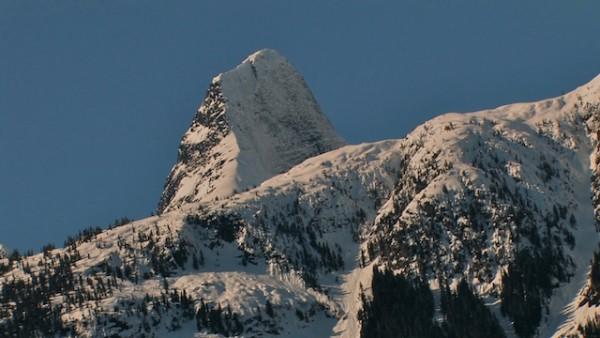 Pinnacle Peak, above Scar Creek