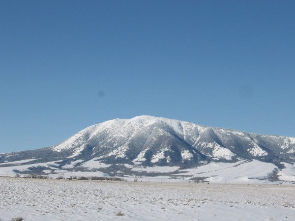 Elk Mountain in winter 2009