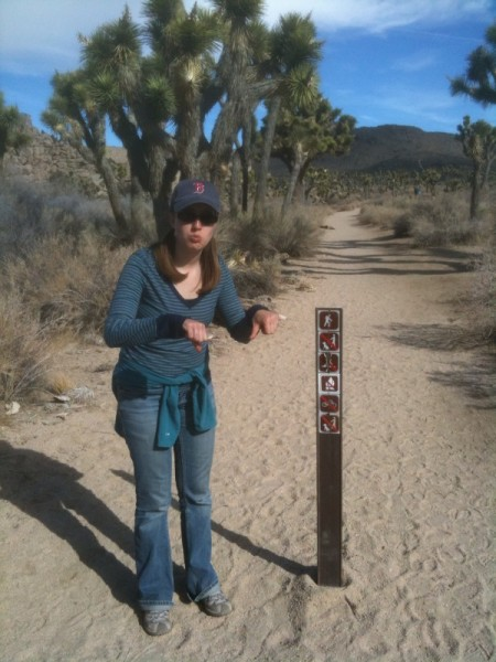 No fun allowed on this trail!