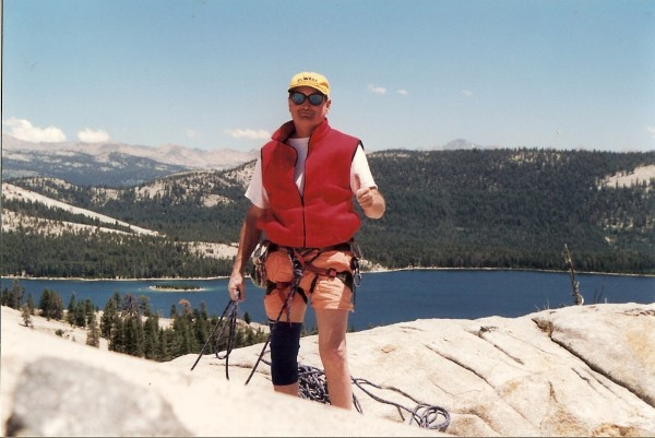 Chuck top of Trapper Dome, Courtright 1998
