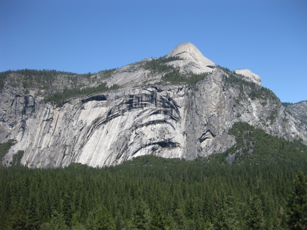 North Dome and Royal Arches from Glacier Point Apron